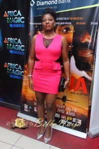 Bella Naija - Egor Efiok At The Lagos Premiere Of Last Flight To Abuja