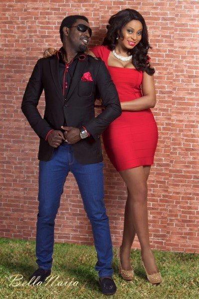 Comedian AY and wife Mabel