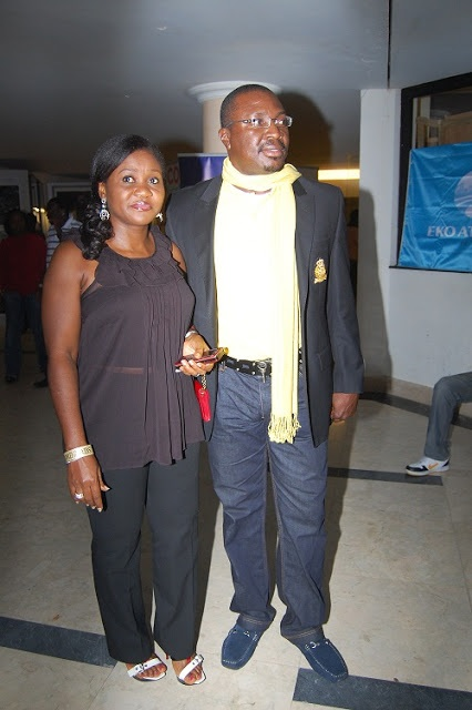 Comedian Alibaba and wife Mary