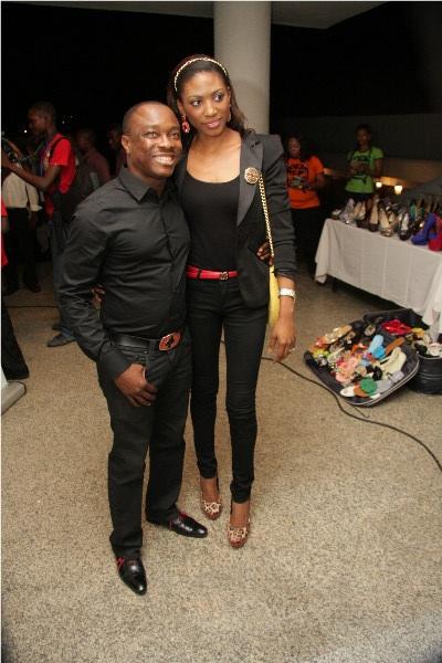 Julius Agwu and wife Ibiere