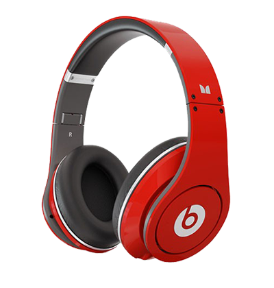 Beats-By-Dre-Studio-Red-High-Definition-Headphones-198
