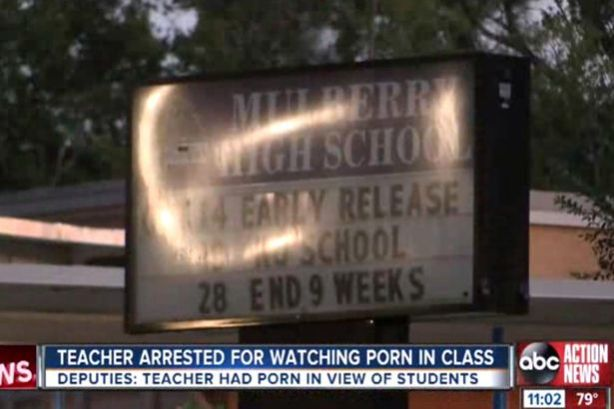 US-teacher-arrested-for-watching-gay-porn-in-class-in-full-view-of-students