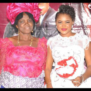 collette Orji and mum