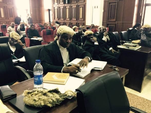 Kenneth Okonkwo in the Federal High Court, Abuja