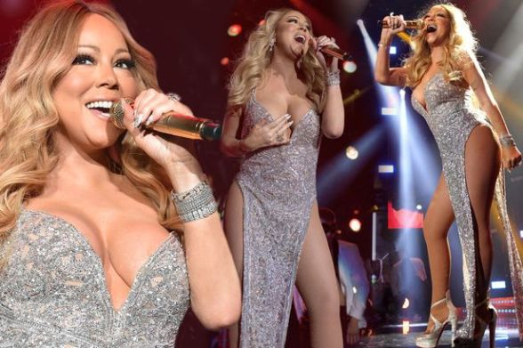 Mariah Carey was showing precisely why she's earned the title of ...
