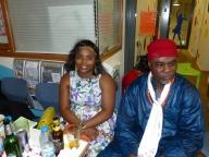 Ozo Ifeacho and Wife