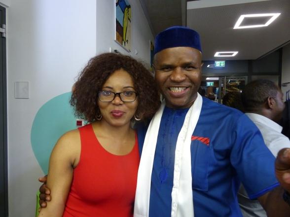 Peter Amaechi (Akaraka Nke Mbu) & Wife Chioma