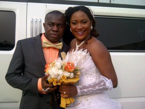 Image result for Uche Elendu with husband
