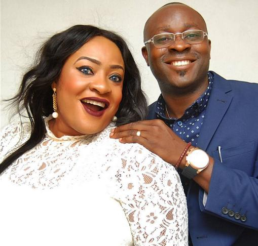 Image result for Actress, Foluke Daramola and husband