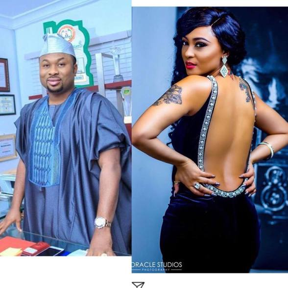 Rosy Meurer, Olakunle Churchill, Entertainment, Tonto Dikeh, Actress,