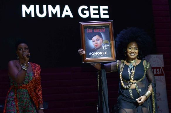 Muma Gee Honored At 'SHE ROCKS' International Woman Edition (Photos)
