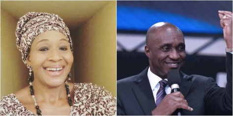 Image result for Kemi Olunloyo and pastor that arrested her