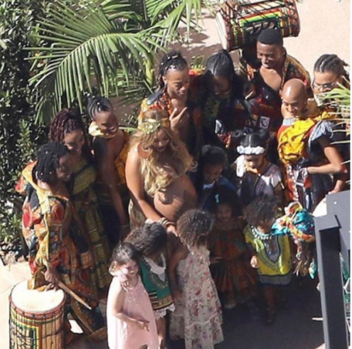 african themed baby shower to celebrate her upcoming bundles of joy