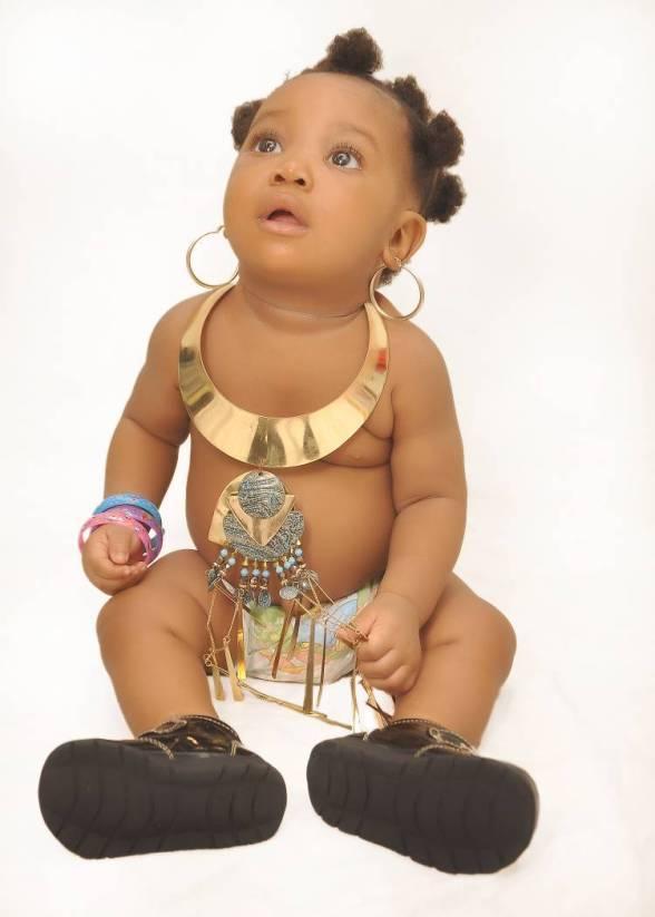 Muma Gee's Beautiful Daughter, Monalisa Eke Celebrates One ...