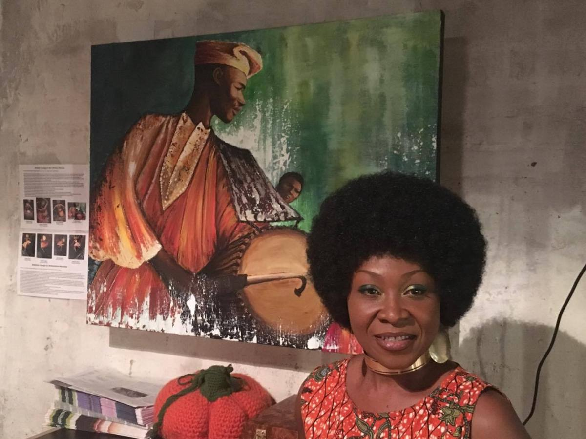 More Than Exhibition: Dr Vivian Timothy Vernissage At Afrikanischen Wochen Ends With So Much Fun (Photos)