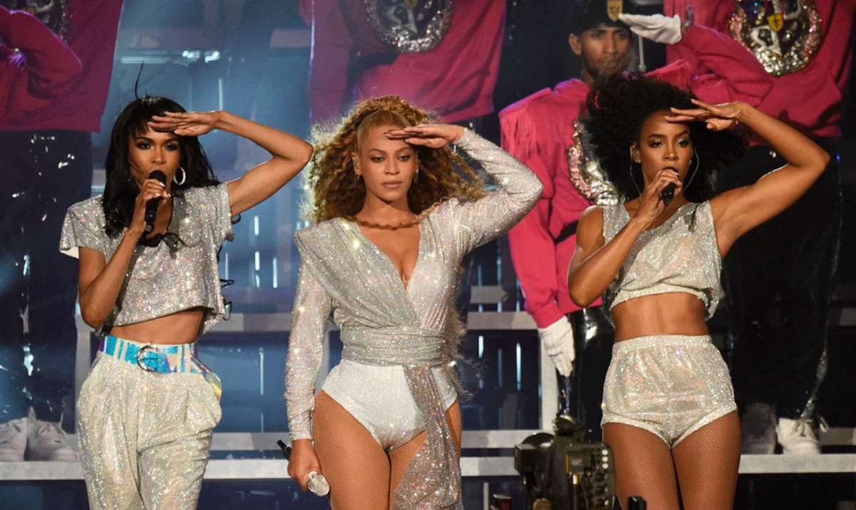 Beyoncé Reunites With Destiny's Child Again