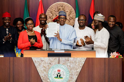 Image result for Postpone your presidential ambitions to 2023, Buhari tells Nigerian youth