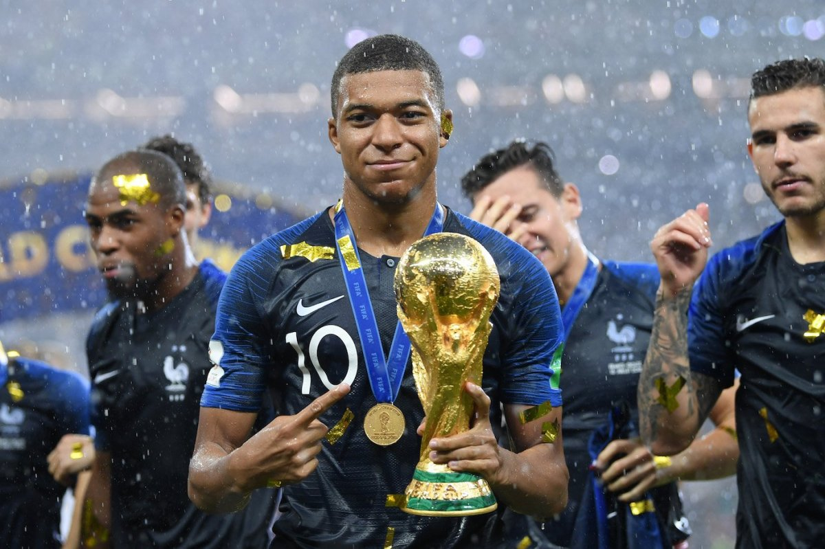 Golden boy of the moment, Kylian Mbappé donates entire World Cup money to charity