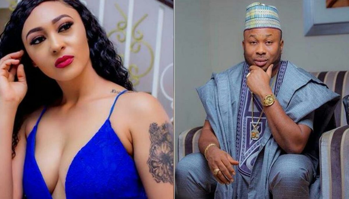 Why I can't leave Tonto Dikeh's ex-husband – Actress Rosaline Meurer