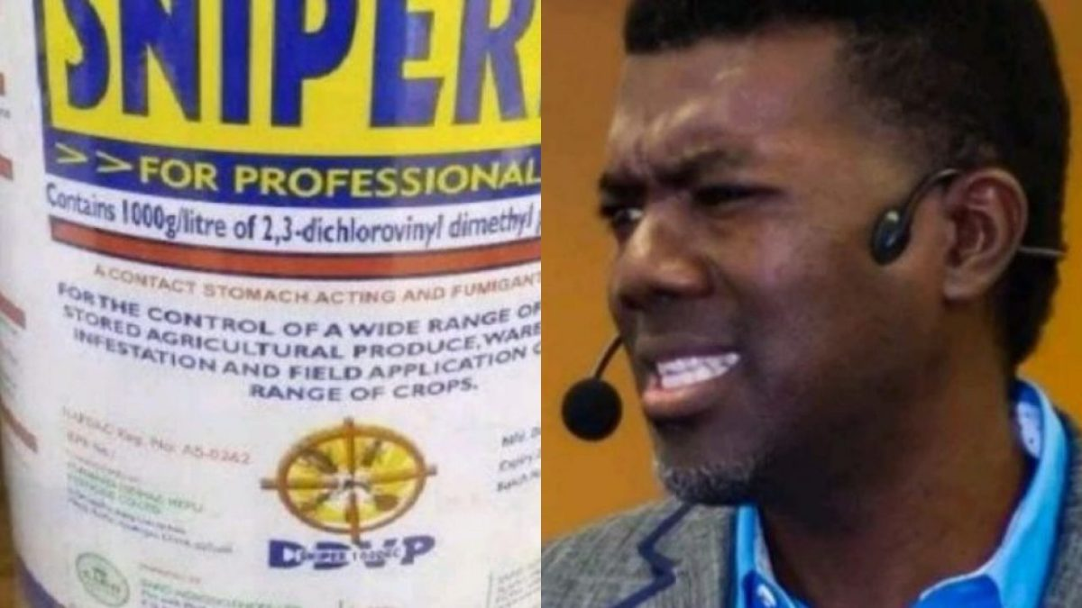 Rising suicide crisis: Ban the sale of Sniper now - Reno Omokri tells Buhari