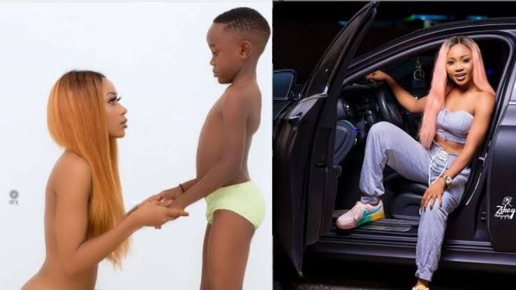 Welcome To Ladun Liadi's Blog: Ghanaian actress jailed over nude photos  with son